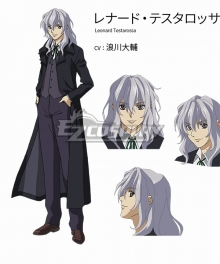 Full Metal Panic! Invisible Victory Leonard Testarossa Cosplay Costume