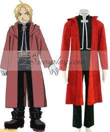 Fullmetal Alchemist Edward Elric Cosplay Costume - Only Cloak and Coat