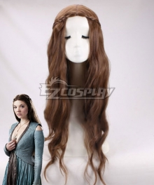 Game Of Thrones Margaery Tyrell Brown Cosplay Wig