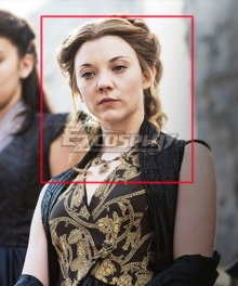 Game Of Thrones Margaery Tyrell Light Brown Cosplay Wig
