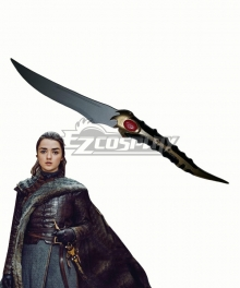 Game Of Thrones Season 8 Arya Stark Valyrian Steel Dagger Cosplay Weapon Prop