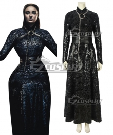 Game Of Thrones Season 8 Sansa Stark A Edition Cosplay Costume