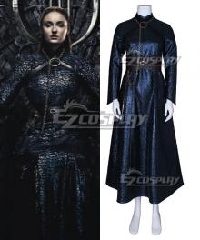 Game Of Thrones Season 8 Sansa Stark B Edition Cosplay Costume
