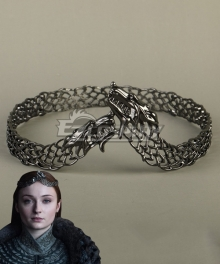 Game Of Thrones Season 8 Sansa Stark Queen Crown Cosplay Accessory Prop