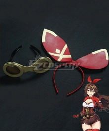 Genshin Impact Amber Headwear Cosplay Accessory Prop