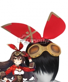 Genshin Impact Female Traveler Headwear Cosplay Accessory Prop