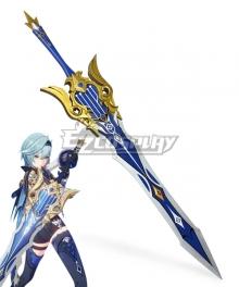 Genshin Impact Eula Song Of Broken Pines Cosplay Weapon Prop