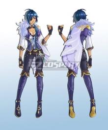 Genshin Impact Kaeya Female Cosplay Costume