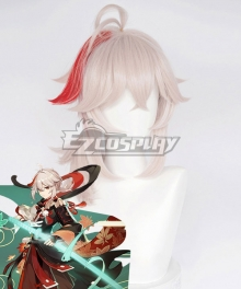 Genshin Impact Kazuha Silver Cosplay Wig