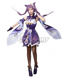 Genshin Impact Keqing Cosplay Costume A Edition