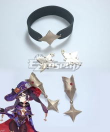 Genshin Impact Mona Hear Wear Earring Cosplay Accessory Prop