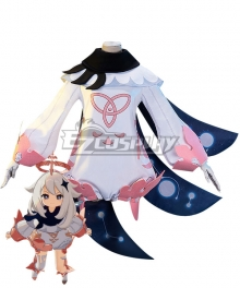 Genshin Impact Paimon Cosplay Costume A Edition
