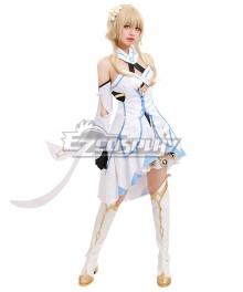 Genshin Impact Player Female Traveler Cosplay Costume A Edition