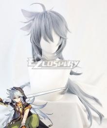 Genshin Impact Razor Gray Cosplay Wig