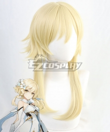 Genshin Impact Traveler Female Golden Cosplay Wig