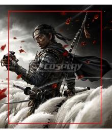 Ghost of Tsushima Jin Sakai Cover Arrow Sword Cosplay Weapon Prop