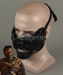 Ghost of Tsushima Jin Sakai Mask Cosplay Accessory Prop