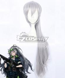 Girls' Frontline AEK-999 Silver Cosplay Wig