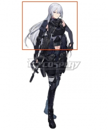 Girls' Frontline AK15 White Cosplay Wig