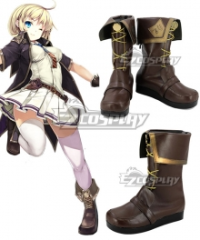 Girls' Frontline Automatic Pistol M1911 Brown Cosplay Shoes