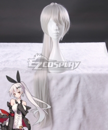Girls Frontline FN57 Silver White Cosplay Wig