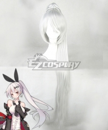 Girls' Frontline FN57 White Cosplay Wig