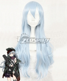 Girls Frontline G11 Blue Silver Cosplay Wig