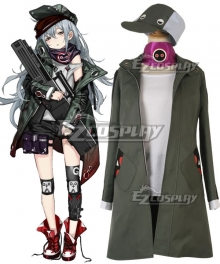 Girls' Frontline Heckler Koch G11 Cosplay Costume - No Short