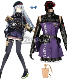 Girls' Frontline HK416 Cosplay Costume - Premium Edition