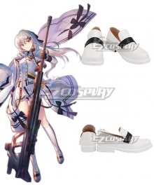 Girls' Frontline IWS2000 White Cosplay Shoes