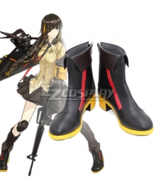 Girls Frontline M16A1 Black Cosplay Shoes