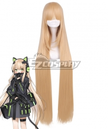 Girls Frontline TMP Gloden Cosplay Wig