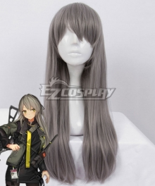 Girls Frontline UMP40 Grey Cosplay Wig