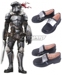 Goblin Slayer Goblin Slayer Black Cosplay Shoes
