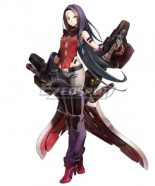 God Eater 3 Lulu Baran Cosplay Costume