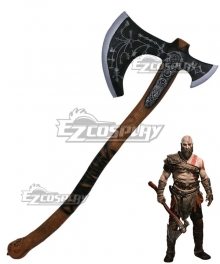 God of War 4 Kratos Halloween Axe Cosplay Weapon Prop