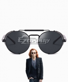 Good Omens Crowly Sunglasses Cosplay Accessory Prop