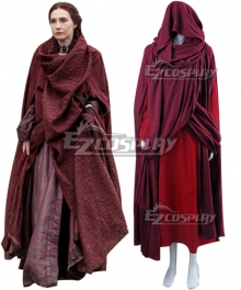 Game of Thrones Melisandre Cosplay Costume