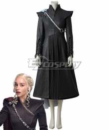 Game of Thrones Season 7 Daenerys Targaryen Cosplay Costume - Premium Edition
