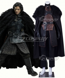 Game of Thrones Jon Snow Cosplay Costume - New Edition