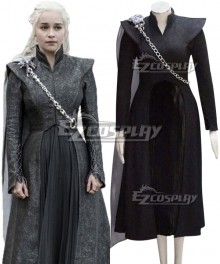 Game of Thrones Season 7 Daenerys Targaryen Cosplay Costume - Starter Edition