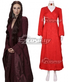 Game of Thrones Melisandre Red Dress Cosplay Costume