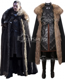Game of Thrones Season 7 Jon Snow Cosplay Costume - A Edition