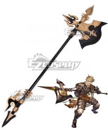 Granblue Fantasy Vane Ax Cosplay Weapon Prop