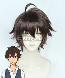 Great Pretender Makoto Edamura Brown Cosplay Wig