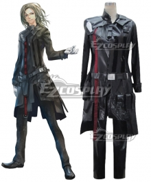 Guilty Crown Gai Tsutsugami Black Cosplay Costume