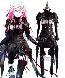 Guilty Crown Inori Yuzuriha EGOIST Reloaded Genocidal Organ Cosplay Costume