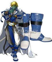 Guilty Gear Robo-Ky Blue Shoes Cosplay Boots