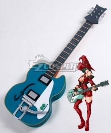 Guilty Gear Xrd I-No Guitar Cosplay Weapon Prop