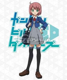 Gundam Build Divers Momoka Yashiro Cosplay Costume